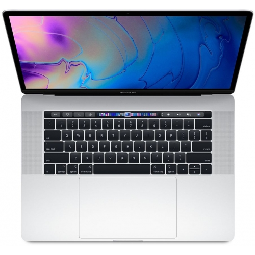 MacBook Pro 15in w/Touch Bar 2.6GHz i7 6-core 16GB/256GB/RP555x 4GB - Silver